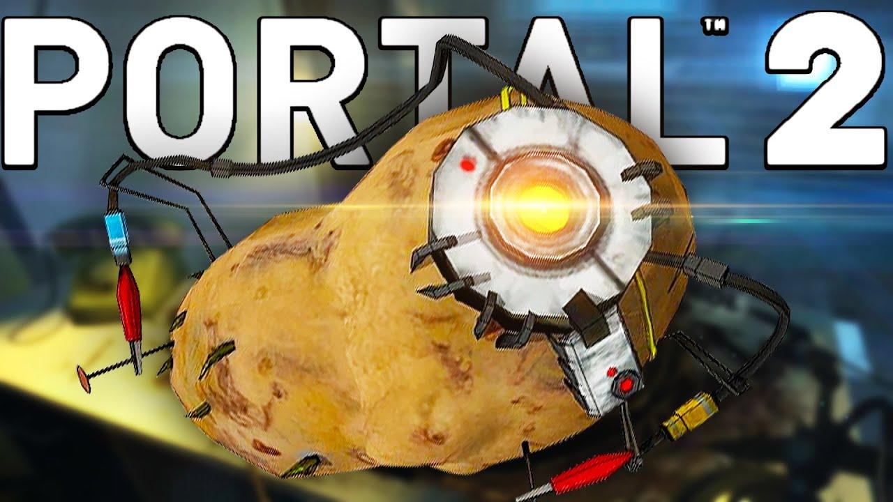 NOW WE'RE BOTH POTATOES | Portal 2 - Part 3
