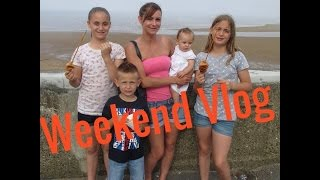 Weekend Vlog, Cleethorpes Air Show, Ghost Trains & Cute Stuff! || Umbumgo