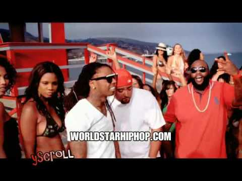 Mack 10- So Sharp Feat Lil Wayne Rick Ross (Official Dirty Video) () French Montana- New York Minute