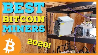 Best Bitcoin Mining Rigs in 2020 | New 110 TH/s Antminer S19 Pro | BTC Mining Profitability