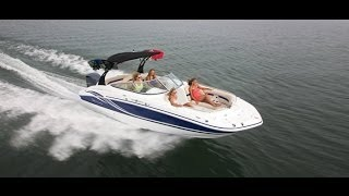 Hurricane Deck Boats | Sundeck 2400 Extreme Package | Outboard Deck Boat