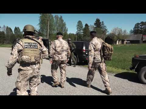 """Igaunijā notiek gadskārtējās starptautiskās militārās mācības """"Kevadtorm"""""""