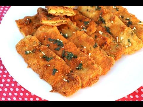 Pohovane tikvice - Škola kuvanja - Fried Zucchini Recipe