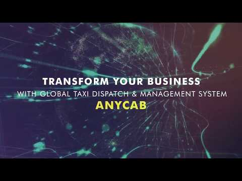 Anycab Taxi Dispatch System | White Label Software | Custom Taxi App Solution