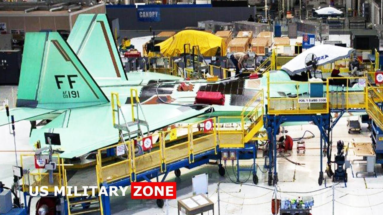 Here's Why F-22 Raptor No New Production