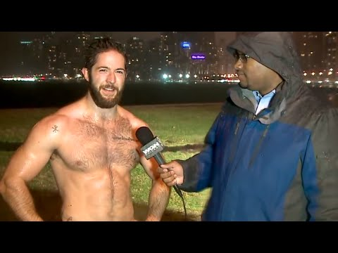 Hot Shirtless Guy on the News Goes Viral | What's Trending Now