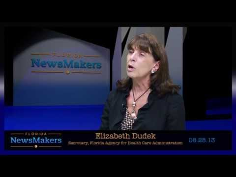 Florida NewsMakers: Florida Agency for Health Care Administration Secretary Elizabeth Dudek