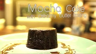 Mocha Cake with Creamy Butter Frosting | Chef Gautam Mehrishi | Bake Do Teen