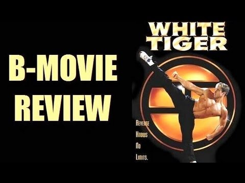 WHITE TIGER ( 1996 Gary Daniels ) Action B-Movie review