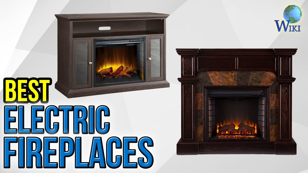 9 Best Electric Fireplaces 2017 - YouTube