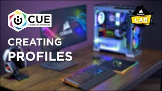 How To Set Up PROFILES in CORSAIR iCUE