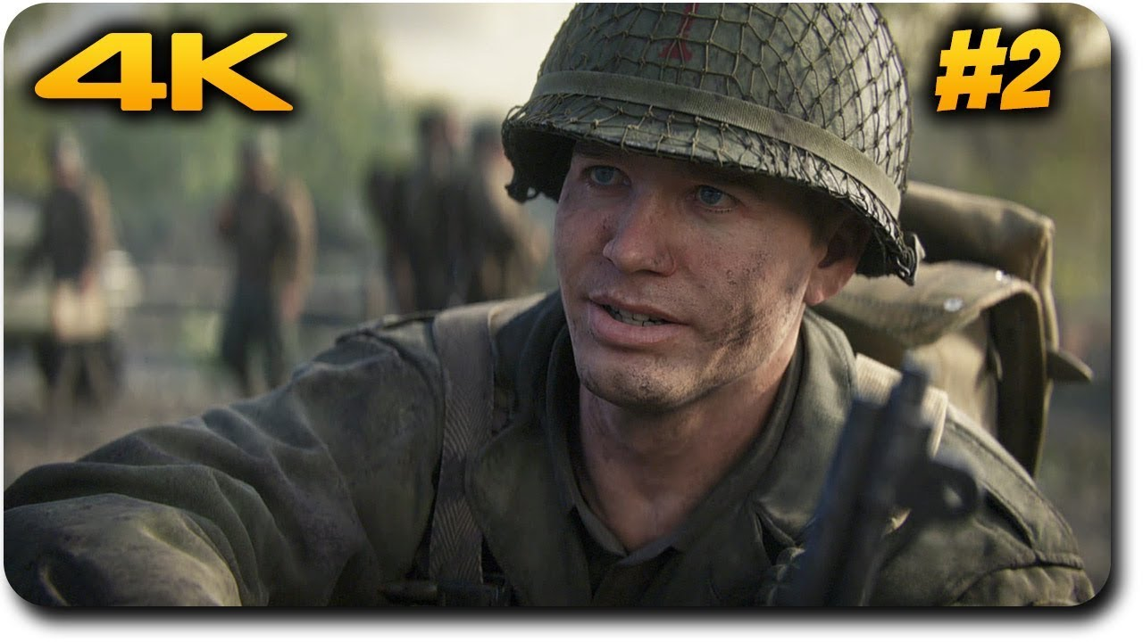Call of duty ww2 playthrough ps4 pro 4k gameplay - Is cod ww2 4k ...