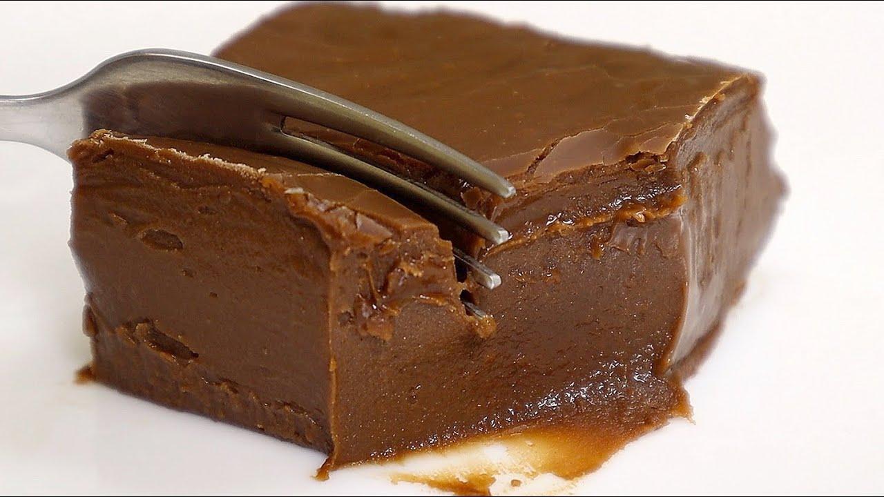 Download KEIN Backen! KEINE Gelatine! KEINE Eier! 2 Zutaten Schokoladendessert!