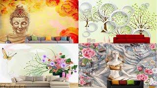 3D wallpaper For Walls | wallpaper decoration ideas for living room and bedroom (vinupinteriorhomes)