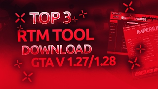 ★ [GTA V/1.27/1.28] TOP 3 BEST RTM TOOL (RECOVERY, MODDED OUTFITS,..) + FREE DOWNLOAD ★