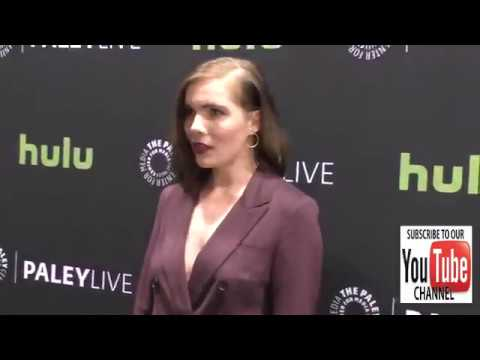 Elise Eberle at the PaleyLive LA   Salem Season 3 Premiere Screening And Conversation at Paley Cente