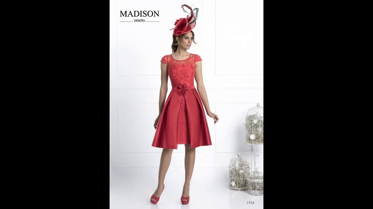 7dbe7dbb7 Fiesta Diseño Madison De Vestidos Youtube Madrina 2017 HqxFCfS