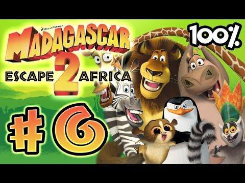 Madagascar Escape 2 Africa Walkthrough Part 6 (X360, PS3, PS2, Wii) 100% Level 6 - Penguin Caper -