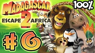 Madagascar Escape 2 Africa Walkthrough Part 6 (X360, PS3, PS2, Wii) 100% Level 6 - Penguin Caper -
