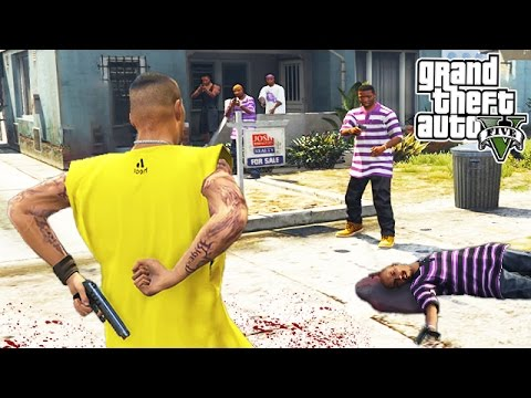 JOINING A GANG!! (GTA 5 Mods)