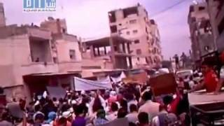 Latakia- Demonstration is Shown in Large Masses on Friday 5/27/11- P5