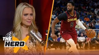 Ty Lue never intended on starting Dwyane Wade over J.R. Smith - Kristine and Colin react | THE HERD