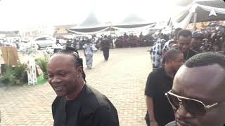 Daddy Lumba attends his in-law funeral