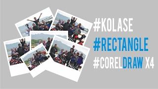 Belajar CorelDRAW | #EFEK #KOLASE #FRAME