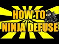 CS:GO | Funniest Ninja Defuse! (HOW TO DEFUSE LIKE A LEGEND)