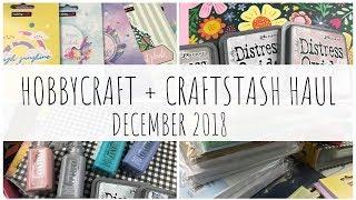 Hobbycraft + CraftStash Sales Haul | December 2018 | Craft + Scrapbooking | ms.paperlover
