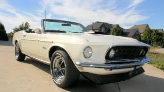 1969 Ford Mustang Convertible Classic Muscle Car for Sale in MI Vanguard Motor Sales