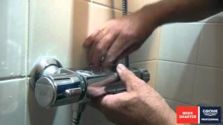 17 12 2013 Grohe keerklepvervanging thermostaatkraan