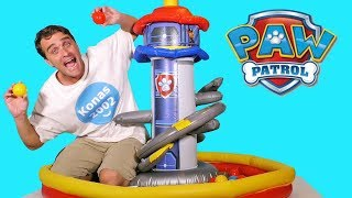 Paw Patrol Lookout Tower Playland ! || Toy Review || Konas2002