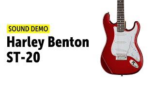 Harley Benton ST-20 - Sound Demo (no talking)