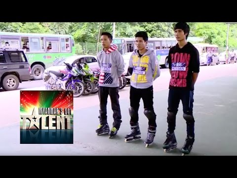 MSA Skaters Got Talent Audition   Myanmar Got Talent 2015 Season 2: MSA audition for Myanmar's Got Talent 2015 Skating their way into the next round! We have yet more talent this week performing for a place in the the next rounds! Subscribe to Myanmar's Got Talent: http://bit.ly/MyanmarsGotTalent_YT Watch more Got Talent auditions: http://bit.ly/MyanmarsGotTalent_YT