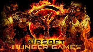 Airsoft Hunger Games Feat. Gina Darling - Airsoft GI Gameplay
