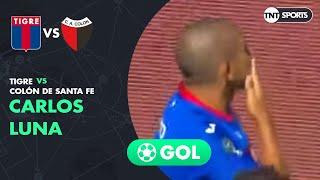 Carlos Luna (3-2) Tigre vs Colón SF | Primera Rueda (vuelta) - Copa Superliga 2019