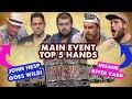 2017 WSOP Main Event Top 5 Hands | World Series of Poker