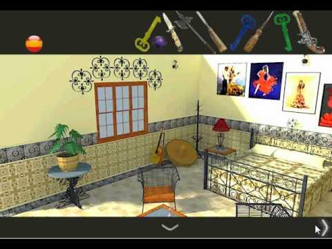 Spanish room escape video walkthrough youtube for Small room escape 9 walkthrough