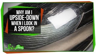 Why Am I Upside-Down When I Look in a Spoon?