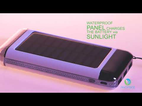 PINOPRIDE Solar Powered Charger for creating safe, better and easy life