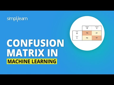 Confusion Matrix In Machine Learning | Confusion Matrix Explained With Example | Simplilearn