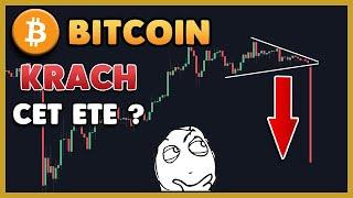 Le BITCOIN prépare un nouveau Krach pour cet été ?! Analyse Bitcoin FR