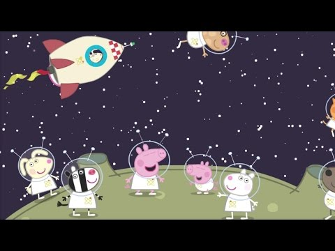 Peppa Pig Animated Stories Compilation - Peppa In Space, George's Space Adventure, Around the World