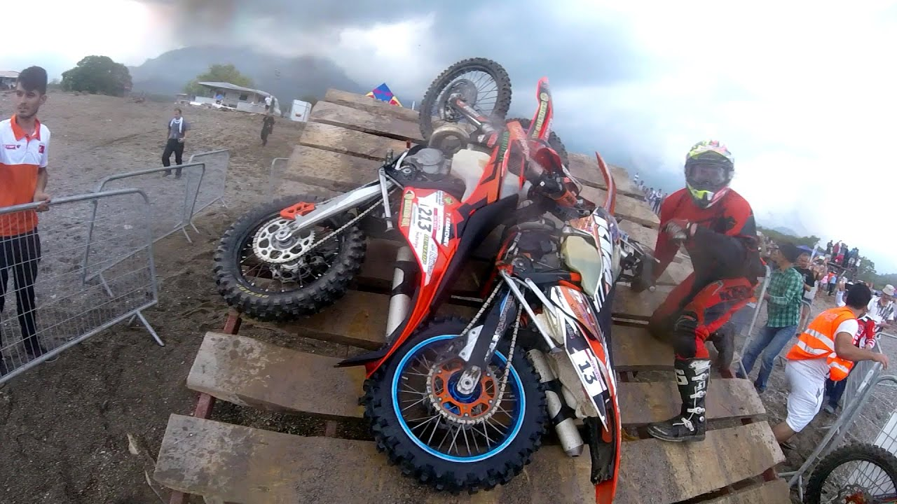 Sea to Sky 2016 Hard Enduro - Beach Race - Teodor Kabakchiev (Head Cam)