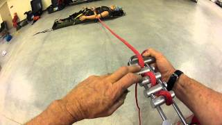 Brake Bar Rack loading, tie off, operation(This is a demonstration of loading, tie off and operation of the CMC brake bar rack., 2012-05-13T02:08:17.000Z)