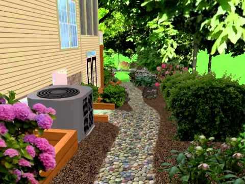 Landscape Design Walk thru Preston Cary NC