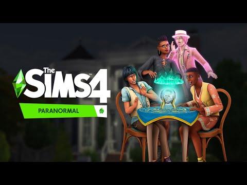 SNIMAM NOVI SERIJAL! 👻🥳 The Sims 4: Paranormal Stuff Pack Build & Buy Overview  