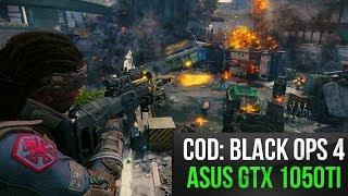 Call of Duty: Black Ops 4 on Ryzen 1500X & Nvidia GTX1050 Ti