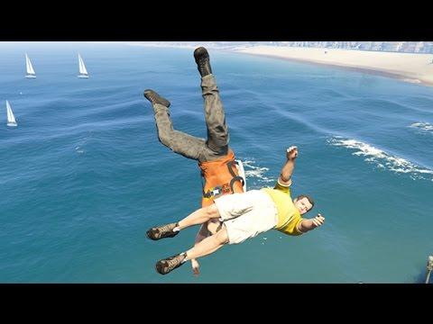 GTA 5 Crazy Life Compilation and Fails (Grand Theft Auto V Funny Moments)
